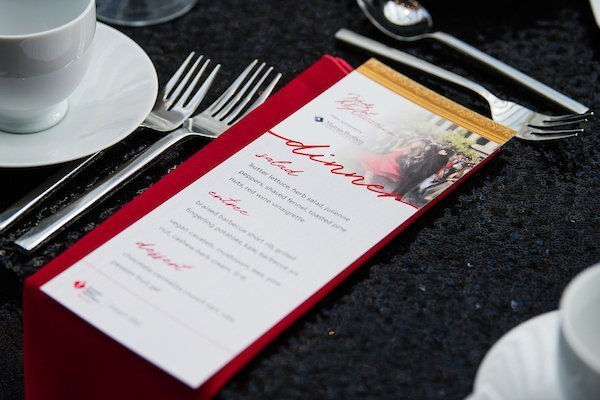 fundraising event planners cleveland ohio | cleveland heart and stroke ball dinner menu