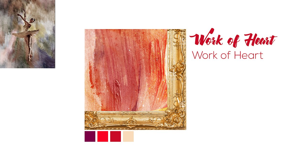 fundraising event cleveland ohio | work of heart postcard