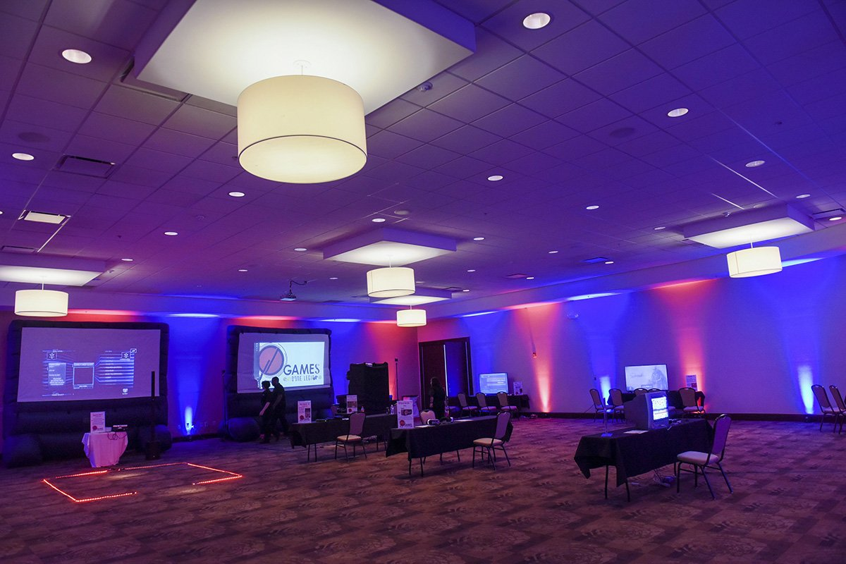 corporate events | one team one dream event floor