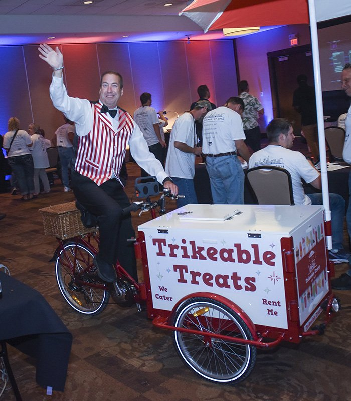 corporate event planners cleveland ohio | snack cart at the one team one dream event
