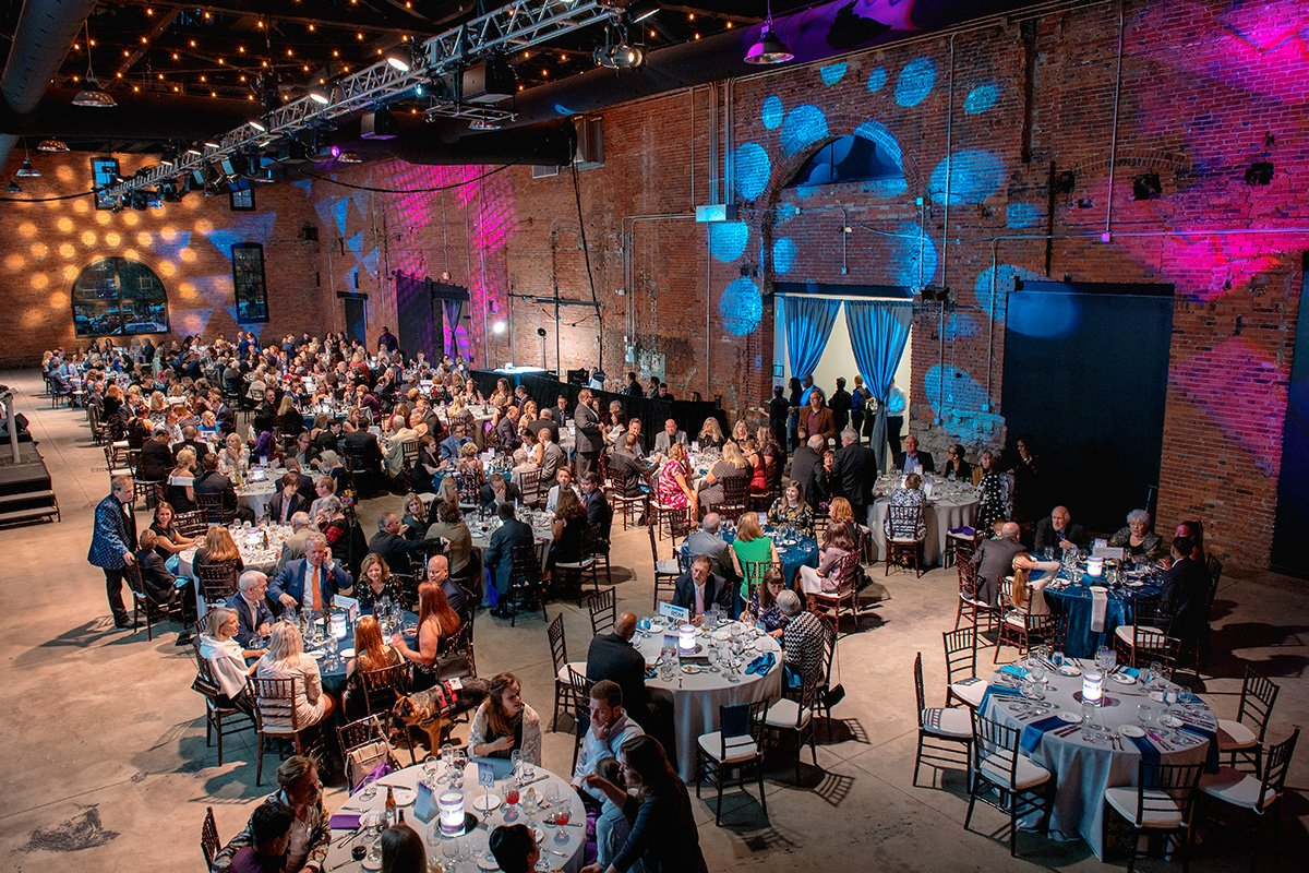 How to resurrect a dormant fundraising event | chsc fall benefit event room