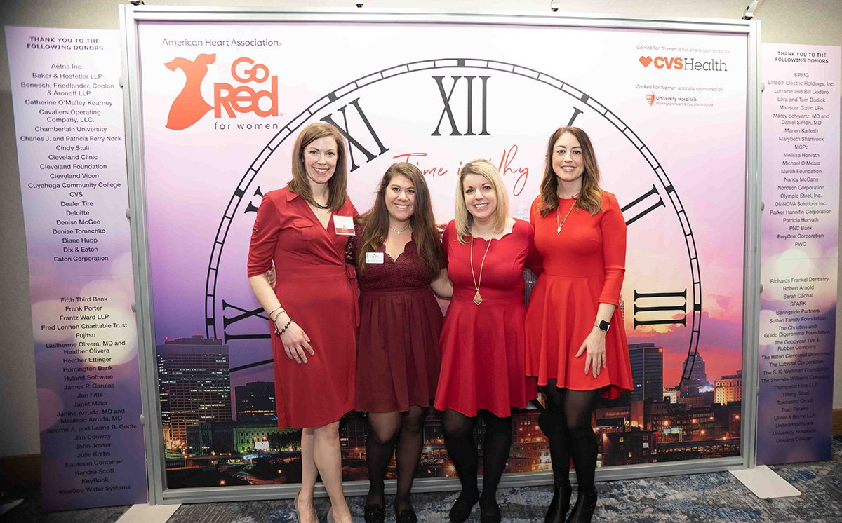 event planning challenges | women standing in front of a clock banner