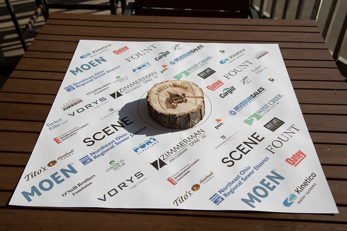 nonprofit event planning | wood award on paper