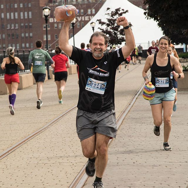 long-term nonprofit growth | people running at a marathon event