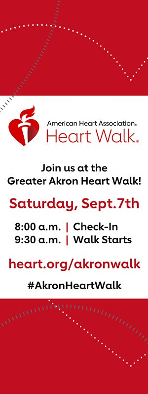move an indoor event to an outdoor venue | 2019 AHA Heart Walk pamphlet