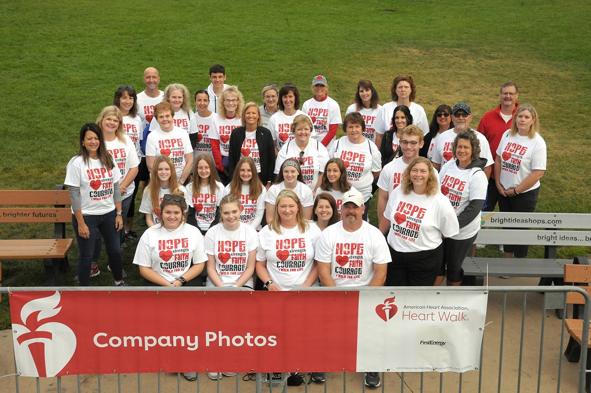 run-walk events akron cleveland | american heart association empoyees photo