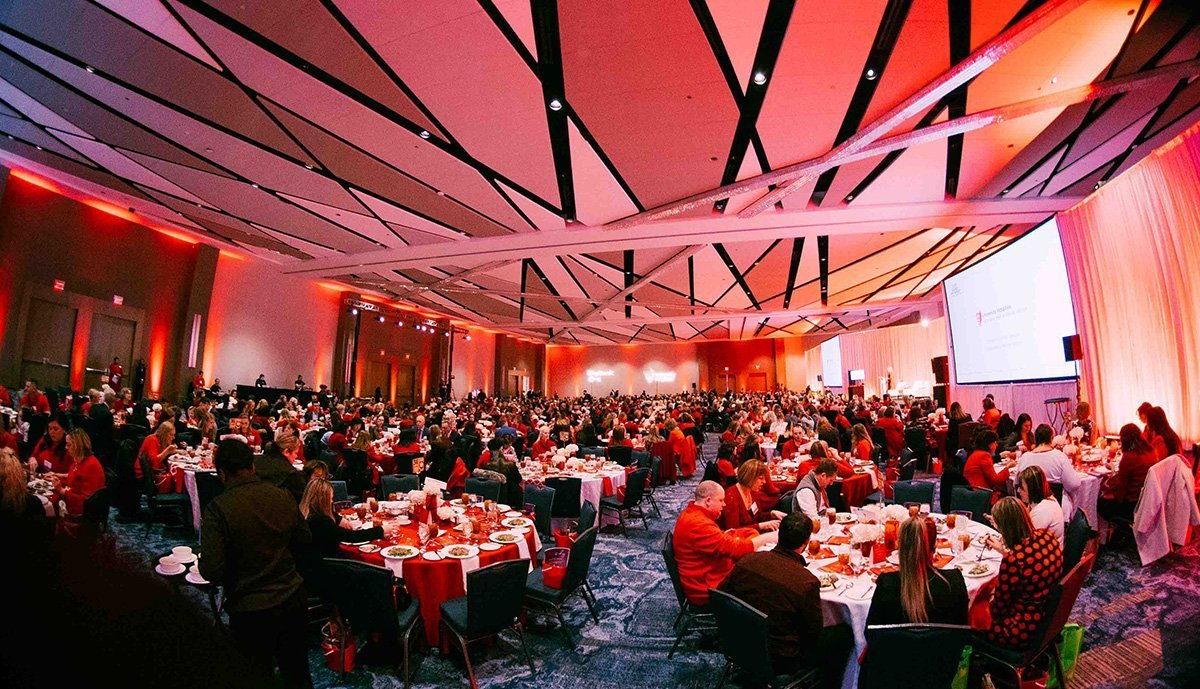 fundraising events for nonprofits | 2019 go red for women lunchon