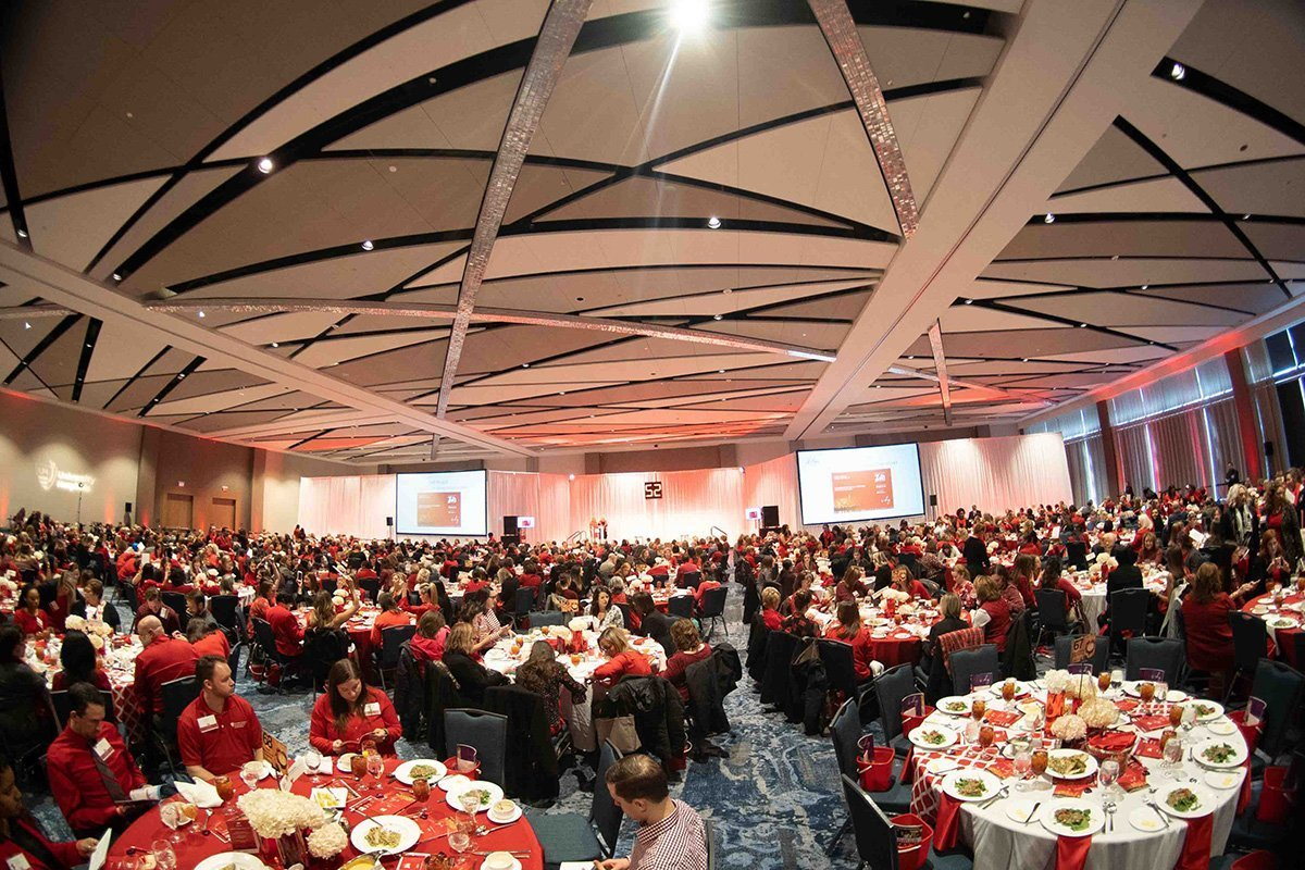 common event planning challenges | go red for women 2019 luncheon