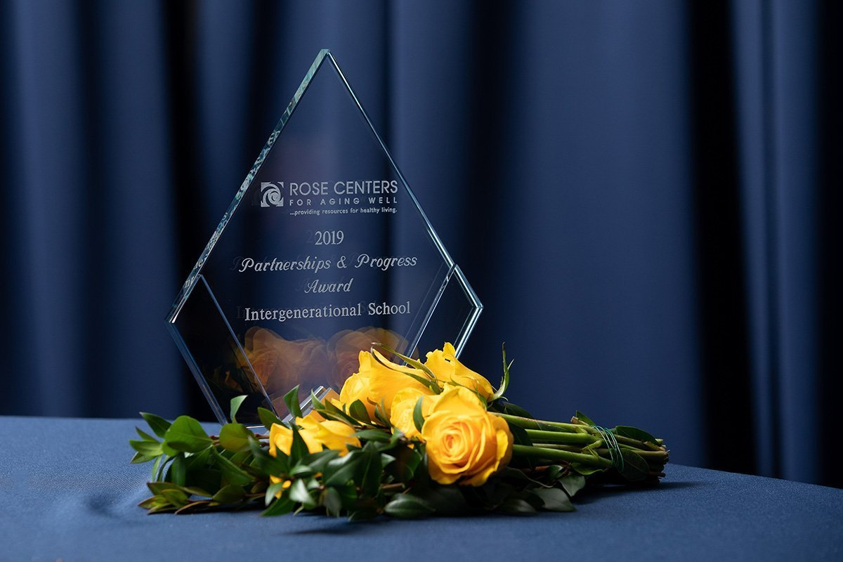 fundraising events cleveland ohio | BRIA Rose Center annual fundraiser award