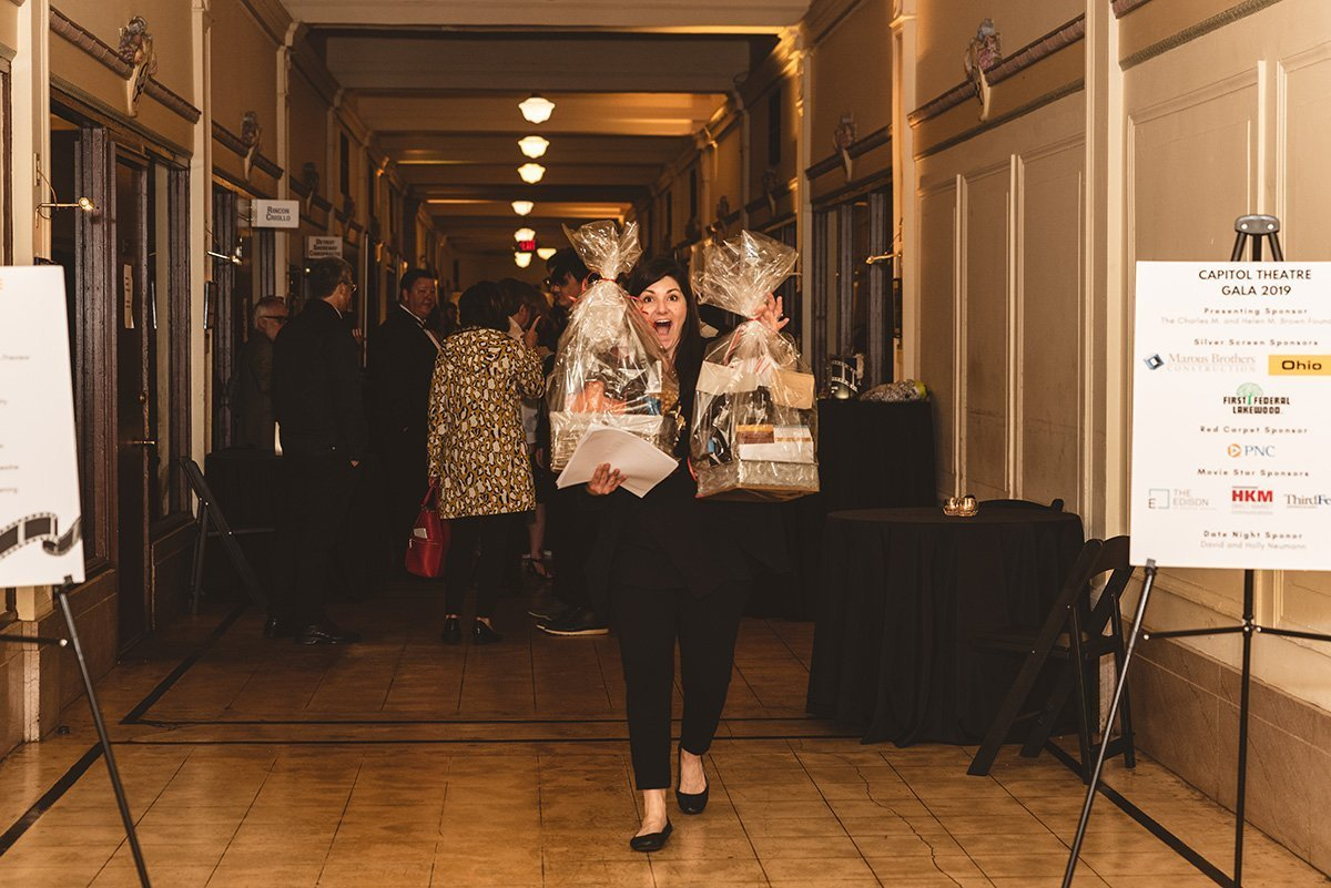 expand capacity non-profit organization | women exited by winning prizes at the 2019 capitol theater gala