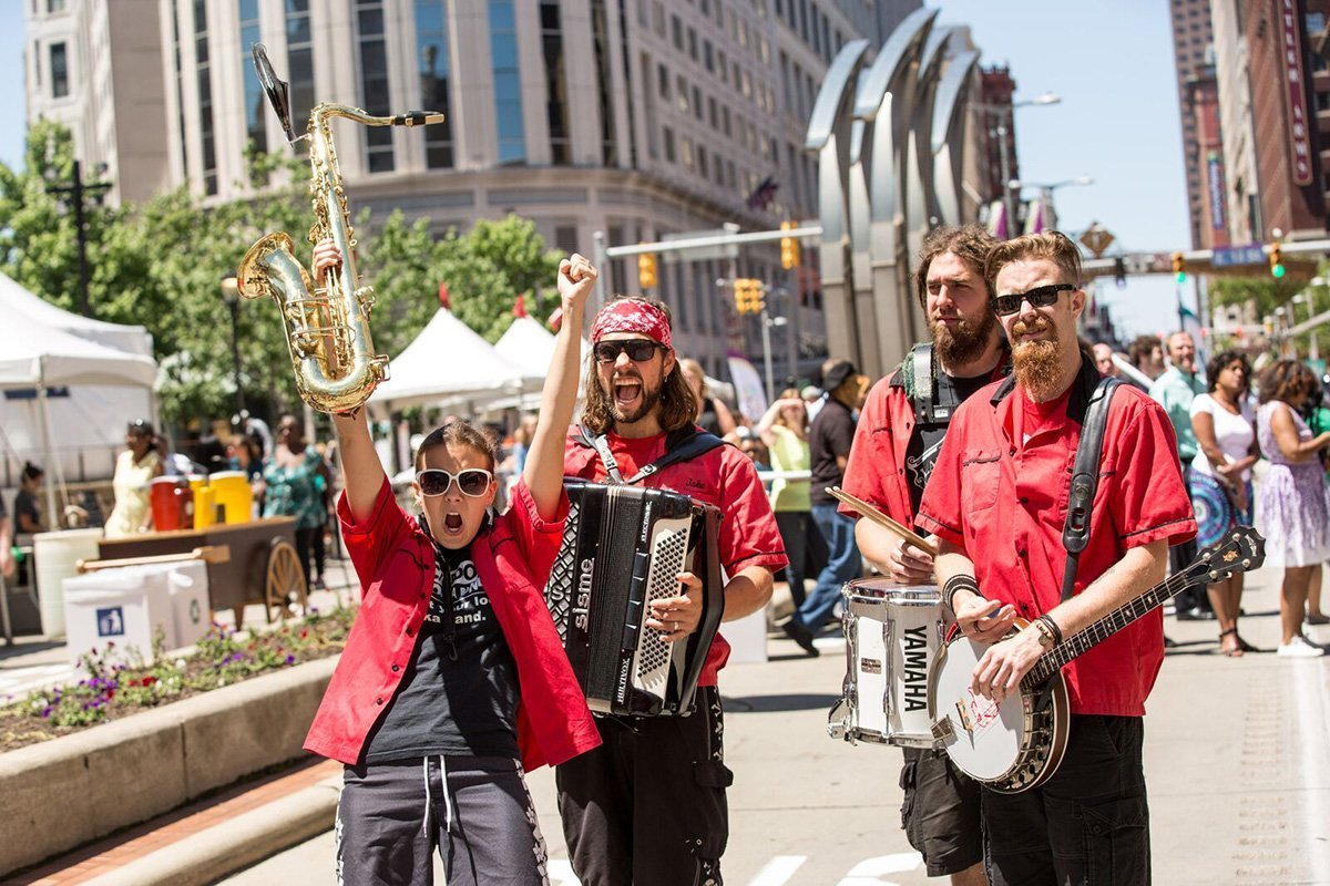 music festival planning | jazz band at the tri-c jazzfest