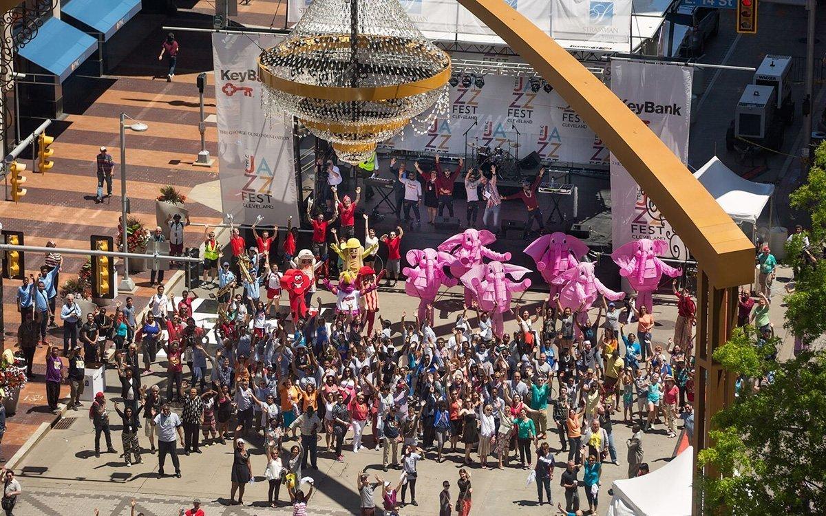 music festival planning | tri-c jazzfest crowd