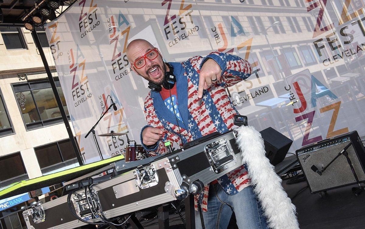event planning cleveland ohio | DJ at the tri-c jazzfest