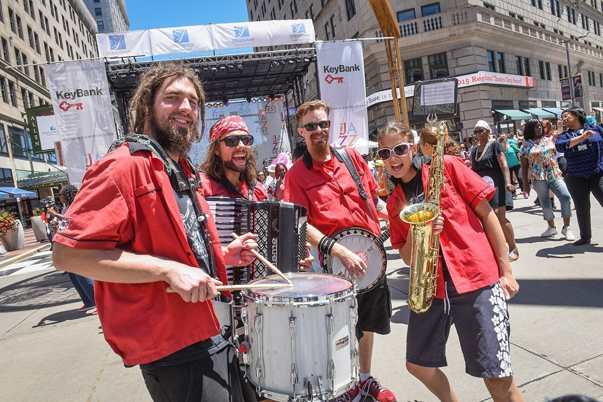 event planning services | jazz band at the tri-c jazzfest